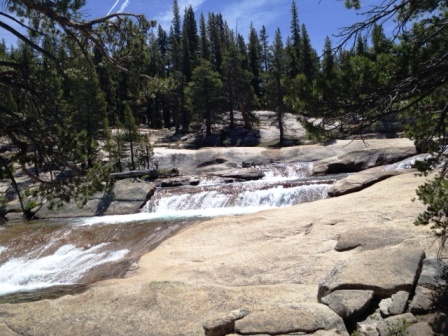 Tuolumne River in Yosemite