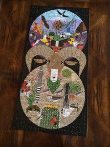 Charley Harper puzzle