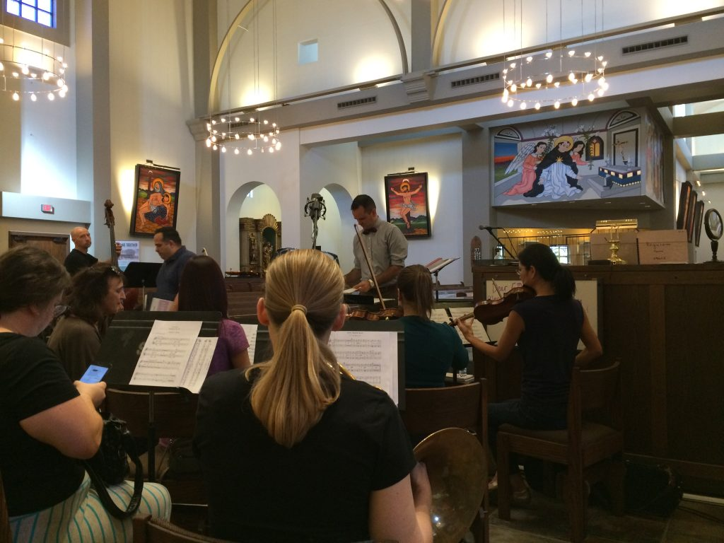 rehearsal for All Souls Day